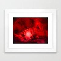 Wall of Space II Framed Art Print