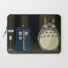 Allons-y Totoro alternate Laptop Sleeve