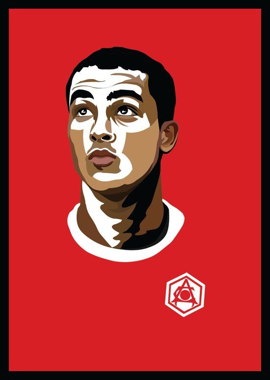 Theo Walcott - IBWM - The 100 Art Print
