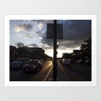 median Art Print
