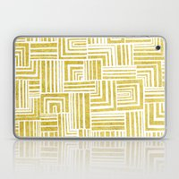 Golden Doodle Weave Laptop & iPad Skin