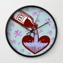 Drunkenheart Wall Clock