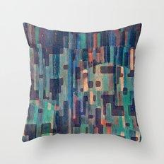 Night in the African Savannah Throw Pillow