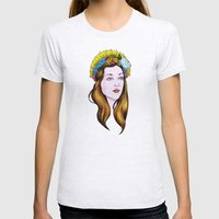 SAINT ANNE Womens Fitted Tee Ash Grey SMALL
