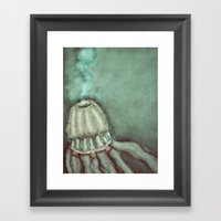 jelly. Framed Art Print