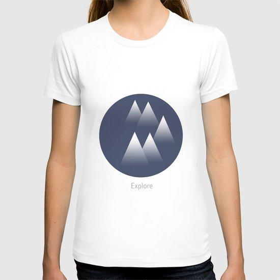 Explore/Mountains T-shirt