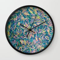Floating. Wall Clock