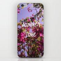 Summer Time iPhone & iPod Skin