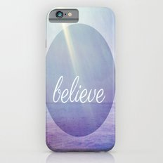 Believe {Purple Version} iPhone 6s Slim Case