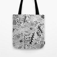 GRAPHic-MoN0T0NE Tote Bag