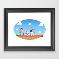 TOY STORY Framed Art Print