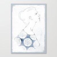 Delia Canvas Print