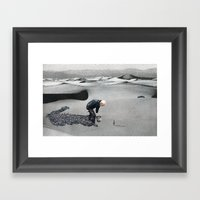 An Other Exodus Framed Art Print