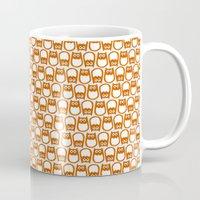 Owl Pattern No. 1 Mug