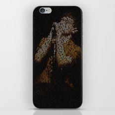 Ian Curtis : Unknown Pleasures iPhone & iPod Skin