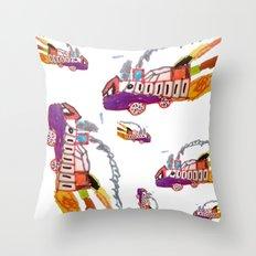 Childhood drawing Throw Pillow