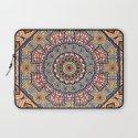 Pottery Tile Kaleidoscope Laptop Sleeve