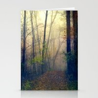 Wandering In A Foggy Woo… Stationery Cards