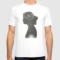 Think Mens Fitted Tee White SMALL