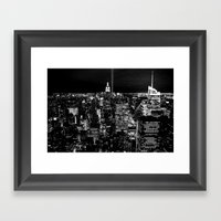 To The Cops Who Were Bor… Framed Art Print