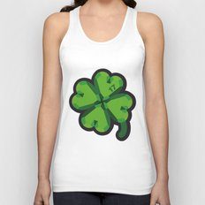 Lucky at 17th march Unisex Tank Top