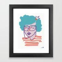 IEYEglasses Framed Art Print