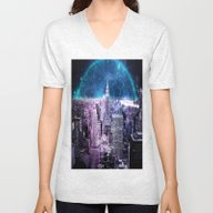 Unisex V-Neck featuring Another World by 2sweet4words Designs