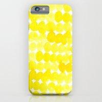 yellow//dots iPhone 6 Slim Case