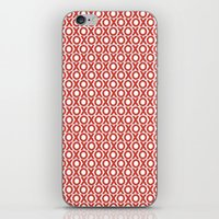 XO in red iPhone & iPod Skin