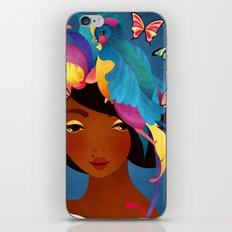 Bird of Paradise iPhone & iPod Skin