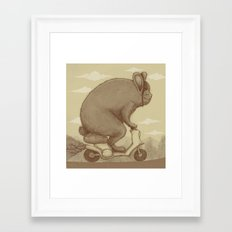 Adventure Ride Framed Art Print