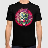 Killer Clown Mens Fitted Tee Black SMALL