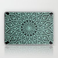 Delicate Teal Laptop & iPad Skin