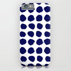 Aria - Indigo Brushstrok… iPhone 6 Slim Case