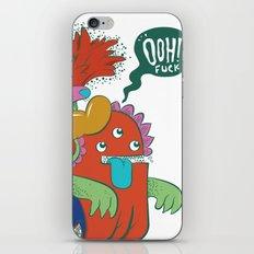 Ooh!! fuck iPhone & iPod Skin