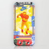 iPhone & iPod Case featuring Charles Woodson Dazzles The Space Babe and Other Spectators, Nike Air Max Swamp Gut Bowl 1997 by Young Weirdos Guild