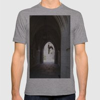 Archway Mens Fitted Tee Athletic Grey SMALL