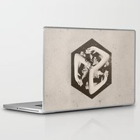 lady gaga Laptop & iPad Skins featuring BOX by Ali GULEC