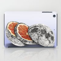 In which there is a mandarin in the moon iPad Case
