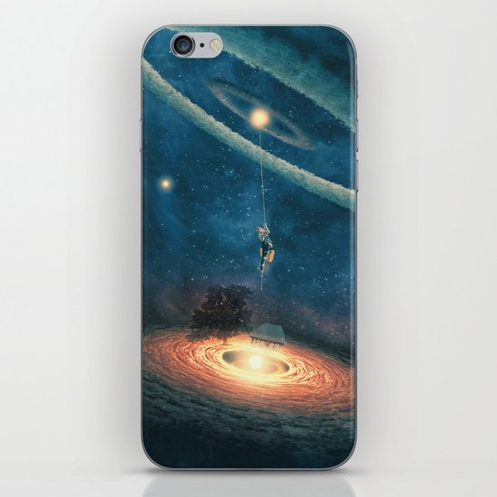 My dream house is in another galaxy iPhone & iPod Skin