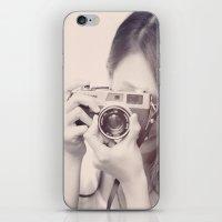 Black and White Love  iPhone & iPod Skin