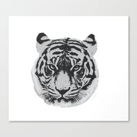 Tigerhead Canvas Print