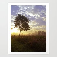 One Summer Day Art Print