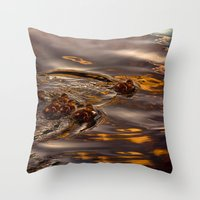 Baby Ducklings Throw Pillow