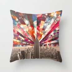 Superstar New York Throw Pillow