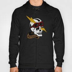 Outlaw Traditional Tattoo Design Hoody