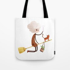 A WITCH Tote Bag