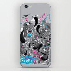 Must destroy the city - Revisited iPhone & iPod Skin