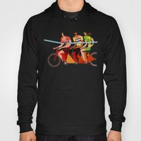 Bicycle Tour de France Tandem for Three Hoody