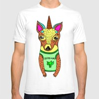 Herbivore Mens Fitted Tee White SMALL